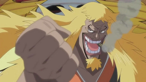 Shiki the Golden Lion from One Piece the Movie: Strong World.