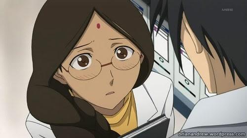 I look nearly identical to Mina Kandaswamy from Darker Than BLACK.