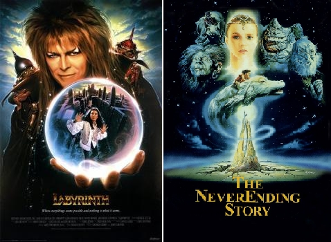 I have many but I choose The Labyrinth and Never Ending Story :)