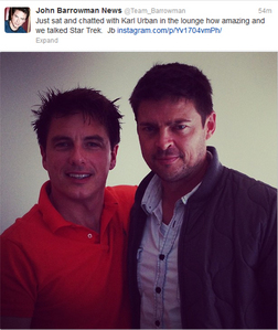 John and Karl Urban ;)