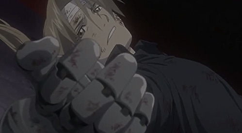 Edward elric! Oh my gosh he is even smoken when he has lost all hope. :D