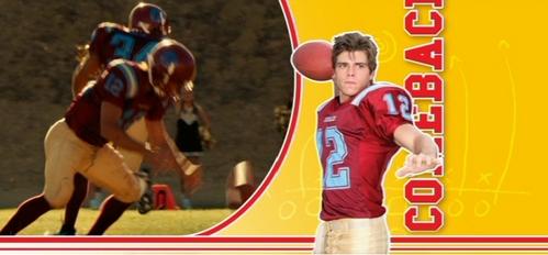 Matthew as a quarterback in a football team :)