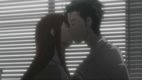 Kurisu and Okabe from Steins;Gate <3