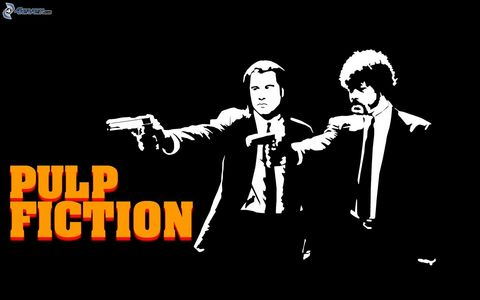 Pulp Fiction, my secondo favourite movie ever.