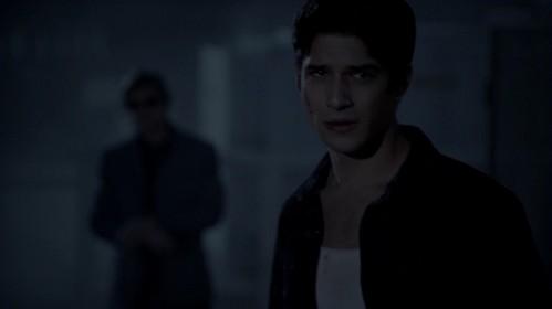 tyler Posey as Scott McCall (Teen wolf)