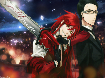 Grell and Will (Black Butler)