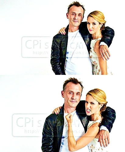 Robbie and Alona Tal (or Jo Harvelle xD)