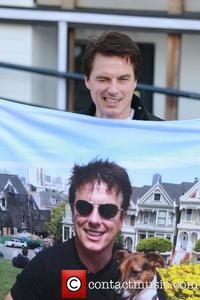 John with his co-star,John ;)