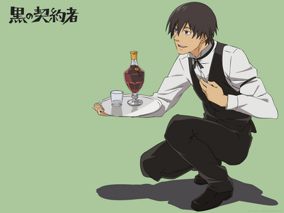Darker Than Black's Hei occasionally takes on part time jobs as a cover for his real job