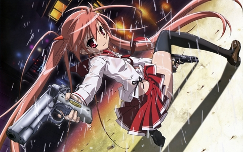 "Aria H. Kanzaki from ""Aria the Scarlet Ammo"""