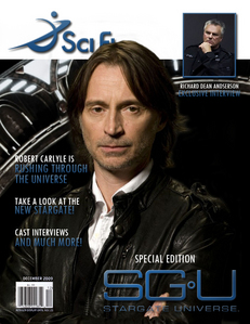 my Bobby on cover of the SciFi Magazine