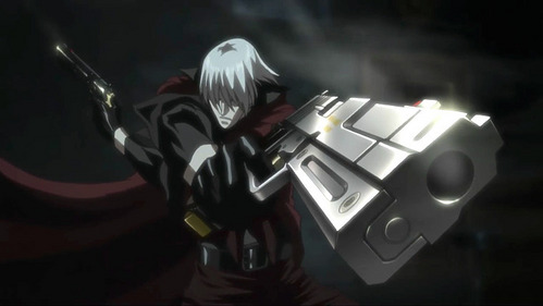 Dante from Devil may cry X3 ~Gunslinger extraordinaire XD
