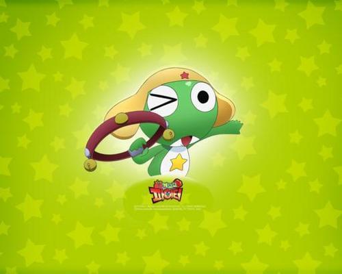 Keroro from Sgt.Frog