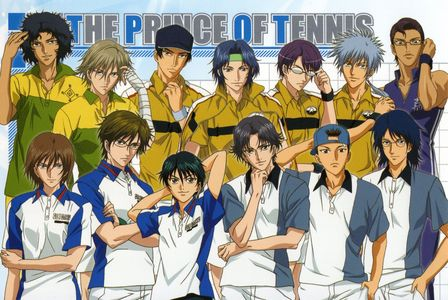 All the male characters in Prince of Tennis! :3