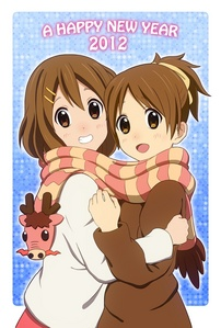 Yui and Ui - K-On!