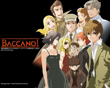 Baccano for my real name (pic) Hidamari Sketch for my screen name