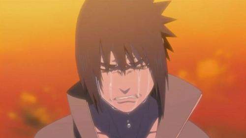 Sasuke after learning the truth about Itachi (Naruto)
