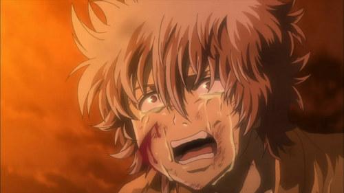 Gintoki when their school was burned down and their sensei was taken away sejak the naraku