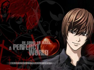 Light Yagami is the first one who comes to mind...