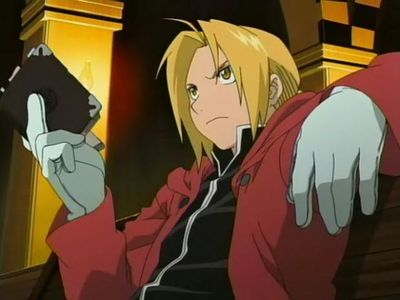 Edward from Fullmetal Alchemist: Brotherhood