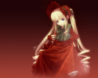 Lovely Shinku in her red dress~ :D
