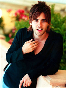 I pag-ibig this pic of Jared Leto<3
