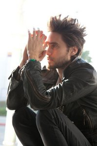 Jared,the sexy rocker in black<3