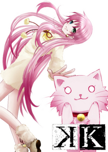 neko is a cat from k project
