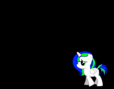My pony's name is D.J. and is extremely shy. D.J dose not have a cutie mark yet and is an orphan. She is an orphan because when Discord attacked he destroyed her Home and killed her family. D.J. is moving to ponyville to hopefully find a better life and maybe a family.