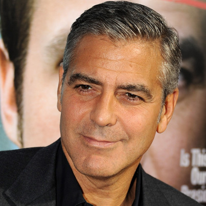 George Clooney,who is 52<3