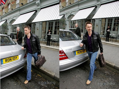 my Bobby on the street... two times :)