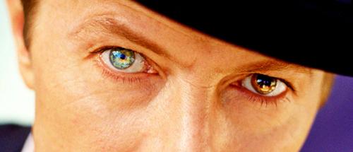 Bowie eyes <333