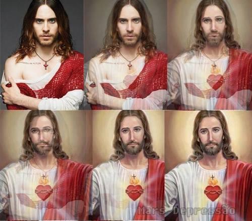 Jared/Jesus fan art<3