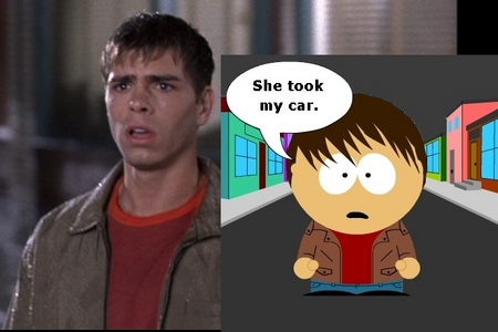 Matthew as Billy in South Park :)