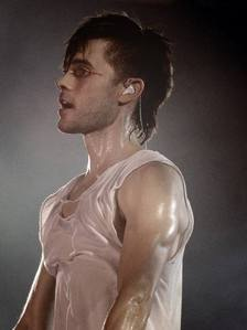 sweaty hot Jared<3