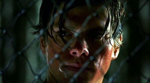 Matthew soaked in sweat :P