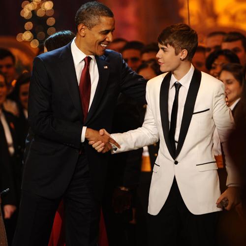 Justin and Barack!