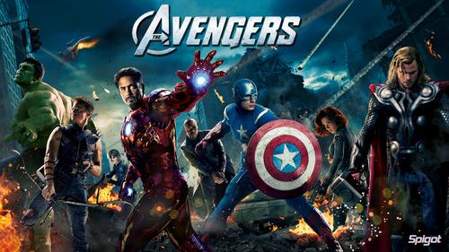RDJ in The Avengers Assemble<3