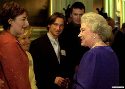my Bobby and the Queen (her majesty is very lucky ...)