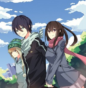 """Noragami"" Both Anime and Manga are awesome. The characters are so nice .. specially the God Yato <3 He is going to be always on bahagian, atas of the senarai of my favourite characters. It is my most favourite Anime and I think it will stay in my most favourite forever and ever."