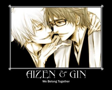 1.Gin Ichimaru And Sosuke Aizen To Be Real! 2. For gin And Sosuke To Admit Their Loving Feelings Each Other! Amore That Shipping~! ;D