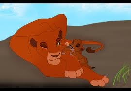 well there is no official mother of scar atau his relationship with her but I'm going to say probably. mothers Cinta and care for the cubs all the same