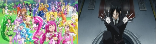 Pretty Cure and Black Butler