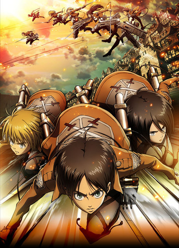 Attack on Titan when I first watched the Anime I became hooked on it due to it's interesting plot and diverse set of characters . Soon I found myself spending all my money on all the Attack on Titan magna's currently out and I am proud to say that I have some Mikasa cosplay , Plusies , and the entire soundtrack saved to my phone XD . Attack on Titan practically made me broke for a bulan but it was all worth it since I now get to relieve the experience constantly until season two comes out of the Anime . Also I am a huge peminat atau Mikasa, Hanji , Levi , Ymir , and Christa .