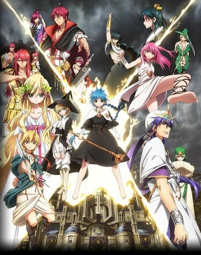 Magi : The Kingdom of Magic I have grown to Cinta this series so much :)