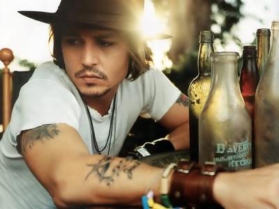 Johnny's gorgeous tatoos <3