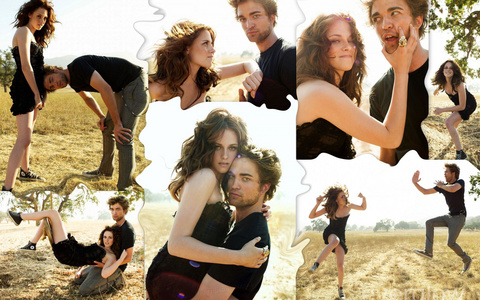 Robsten being cute and adorable at their 2008 VF photoshoot<3