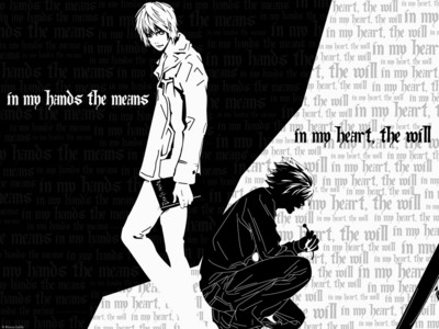 Death Note was what got me interested in watching more. successivo month, it will have been a anno since I got into anime, myself. :)