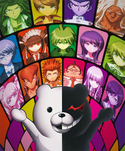 I don't really know alot but I think it would be Dangan Ronpa: The animation. I guess.