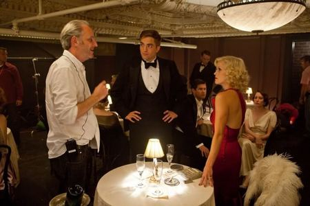 my gorgeous Robert BTS on the set of WFE<3